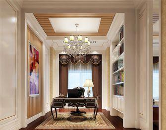 110平米欧式风格书房装修案例