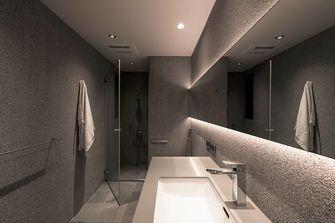 经济型90平米现代简约风格卫生间图片