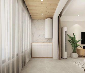 90平米三室三厅日式风格阳台装修效果图