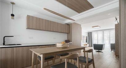 富裕型140平米三室两厅日式风格餐厅设计图