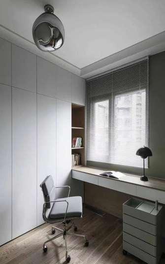 5-10万140平米四室两厅法式风格书房设计图