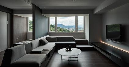 20万以上140平米四室两厅现代简约风格客厅效果图