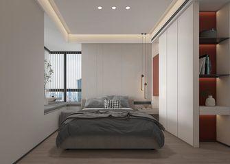 经济型110平米三室两厅现代简约风格卧室设计图