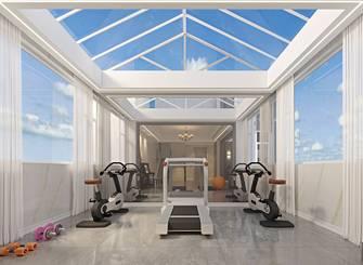 豪华型140平米别墅美式风格健身房设计图