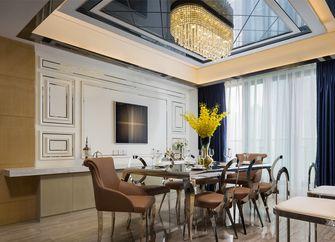 富裕型140平米四欧式风格餐厅图