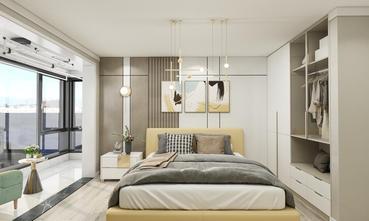 三室两厅现代简约风格卧室装修效果图
