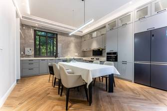 经济型140平米别墅混搭风格餐厅欣赏图