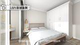 60平米北欧风格卧室装修图片大全
