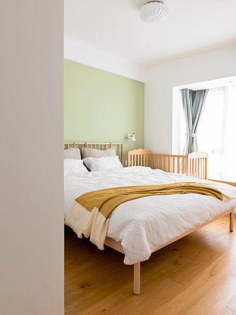 10-15万80平米三室两厅日式风格卧室装修效果图