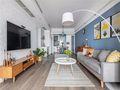 经济型130平米四室一厅北欧风格客厅图片大全