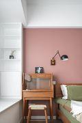 富裕型80平米美式风格卧室图