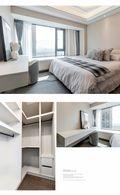富裕型140平米四室两厅混搭风格卧室效果图