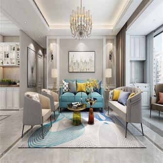 富裕型140平米四欧式风格客厅图片