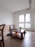 50平米三室两厅日式风格书房设计图