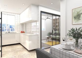 经济型60平米混搭风格厨房设计图