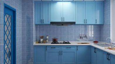 80平米地中海风格厨房设计图