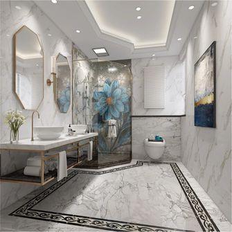 140平米别墅北欧风格卫生间设计图
