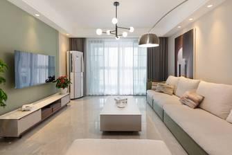 经济型120平米三室两厅现代简约风格客厅图片大全