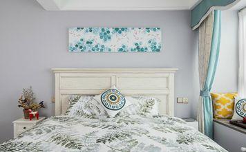 豪华型三室两厅混搭风格卧室装修图片大全