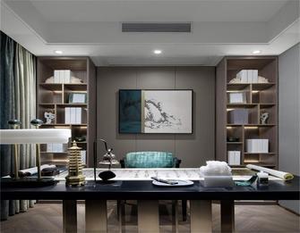 富裕型120平米三室两厅现代简约风格书房装修效果图
