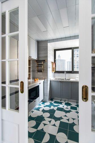 10-15万100平米三室两厅混搭风格厨房图片大全