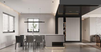 豪华型110平米三室两厅现代简约风格餐厅效果图