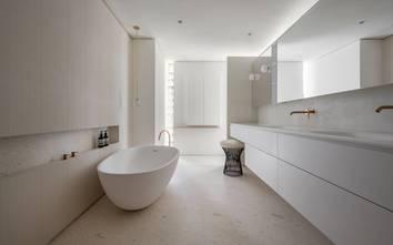 100平米一居室现代简约风格卫生间装修案例