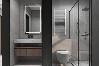 10-15万120平米三室一厅现代简约风格卫生间设计图