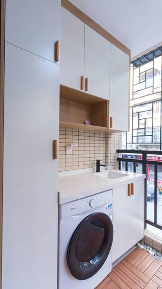 富裕型40平米小户型日式风格阳台装修案例