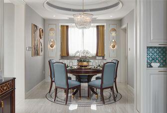 富裕型130平米公寓轻奢风格餐厅装修案例