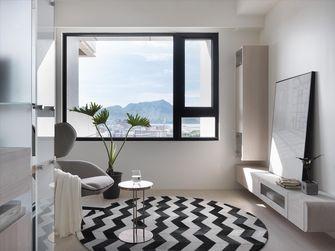 10-15万50平米北欧风格客厅装修案例