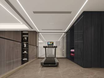 20万以上140平米别墅现代简约风格健身房效果图