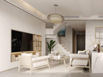 110平米复式日式风格客厅欣赏图