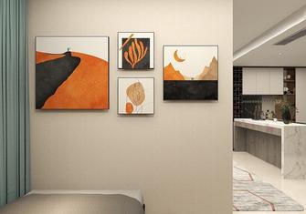 5-10万50平米一室一厅现代简约风格卧室图