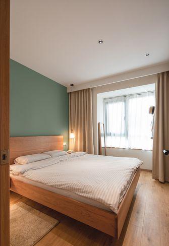 70平米一居室日式风格卧室图