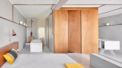 经济型50平米一室一厅工业风风格客厅图片