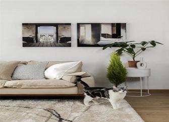 富裕型80平米三室一厅混搭风格客厅装修案例