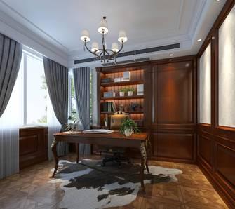 20万以上140平米欧式风格书房图片