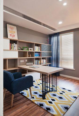 60平米现代简约风格书房效果图