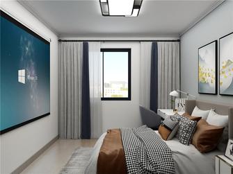 富裕型60平米现代简约风格卧室设计图