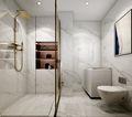 豪华型130平米三室两厅欧式风格卫生间装修图片大全
