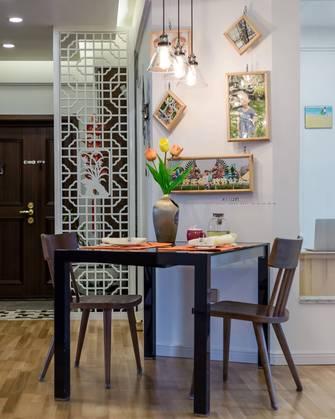 20万以上三室两厅现代简约风格餐厅设计图
