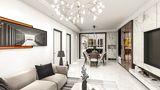 15-20万120平米三室三厅欧式风格客厅装修效果图