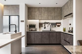豪华型120平米三室一厅现代简约风格厨房欣赏图