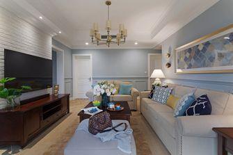 10-15万120平米三室一厅美式风格客厅设计图