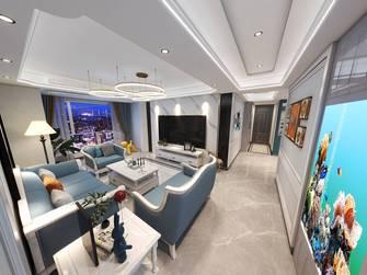 5-10万120平米三室两厅美式风格走廊图