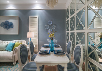 15-20万70平米一室一厅欧式风格餐厅装修图片大全