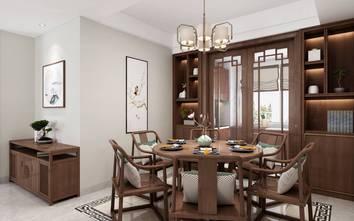 110平米四中式风格餐厅欣赏图
