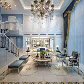 豪华型140平米复式法式风格客厅效果图
