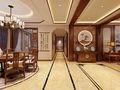 140平米中式风格走廊欣赏图
